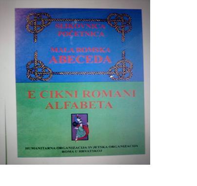 Slikovnica - početnica Mala romska abeceda !